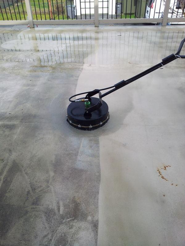 pavement washing